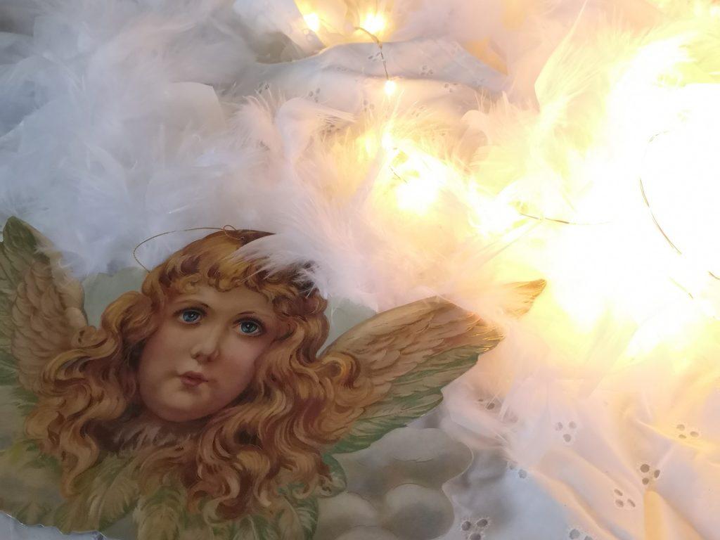 Bild mit Engel